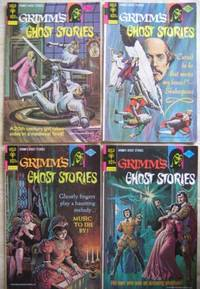 """Grimm's """"Ghost Stories""""  # 21 January 1975, # 25 August 1975, # 27 November 1975, # 28 December 1975  -four Comics from the """"Grimm's Ghost Stories"""" series"""