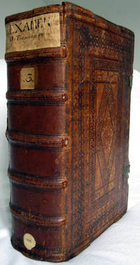 Folio. Four parts in one volume. (I:) (12, including one blank), 172, (6) leaves; (II:) (6), 220, (8...