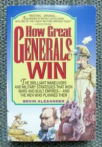image of HOW GREAT GENERALS WIN.