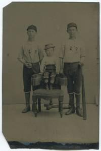 Early Base Ball Tintype, Circa 1880