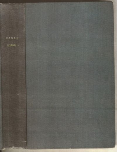 382 pages with diagrams, tables and plates. Octavo (8 1/2