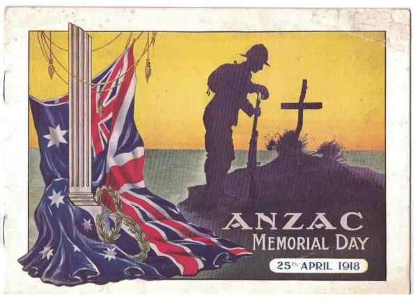 Collectible and meaningful books related to ANZAC Day