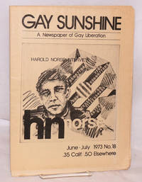 Gay Sunshine; a newspaper of gay liberation, #18 May-June 1973: Harold Norse Interview