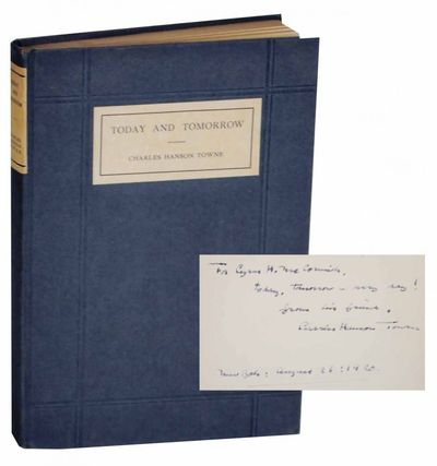 New York: George H. Doran Company, 1916. First edition. Hardcover. 97 pages. An early book of Towne'...