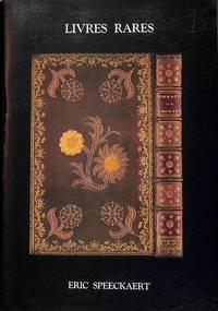 Catalogue no number/n.d.: Cent livres reliures autographes & manuscrits de  1484 à 1956.