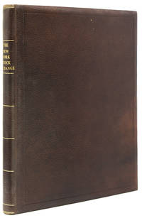 Souvenir of the New York Stock Exchange by (STOCK MARKET) - Hardcover - 1893 - from James Cummins Bookseller and Biblio.com