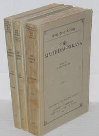 The Majjhima-Nikaya [set, three volumes]