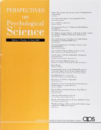 image of Perspectives On Psychological Science (Volume 4, Number 4, July 2009)