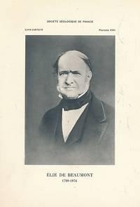 Centenaire de la Société Géologique de France. Livre Jubilaire 1830-1930. 2 volume set