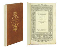 Montaigne's Essay on Friendship and XXIX Sonnets by Éstienne de La Boétie.