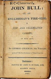 (Sammelband. Five English  plays in one volume (all published in America 1795-1803)