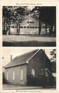 image of Mennonite Temple, Stayner, Ontario (Canada) -Circa 1940s-50s Bordered Image Postcard
