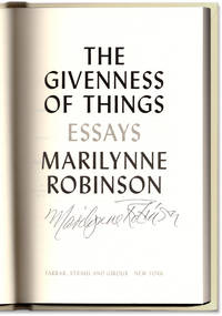 image of The Givenness of Things: Essays.