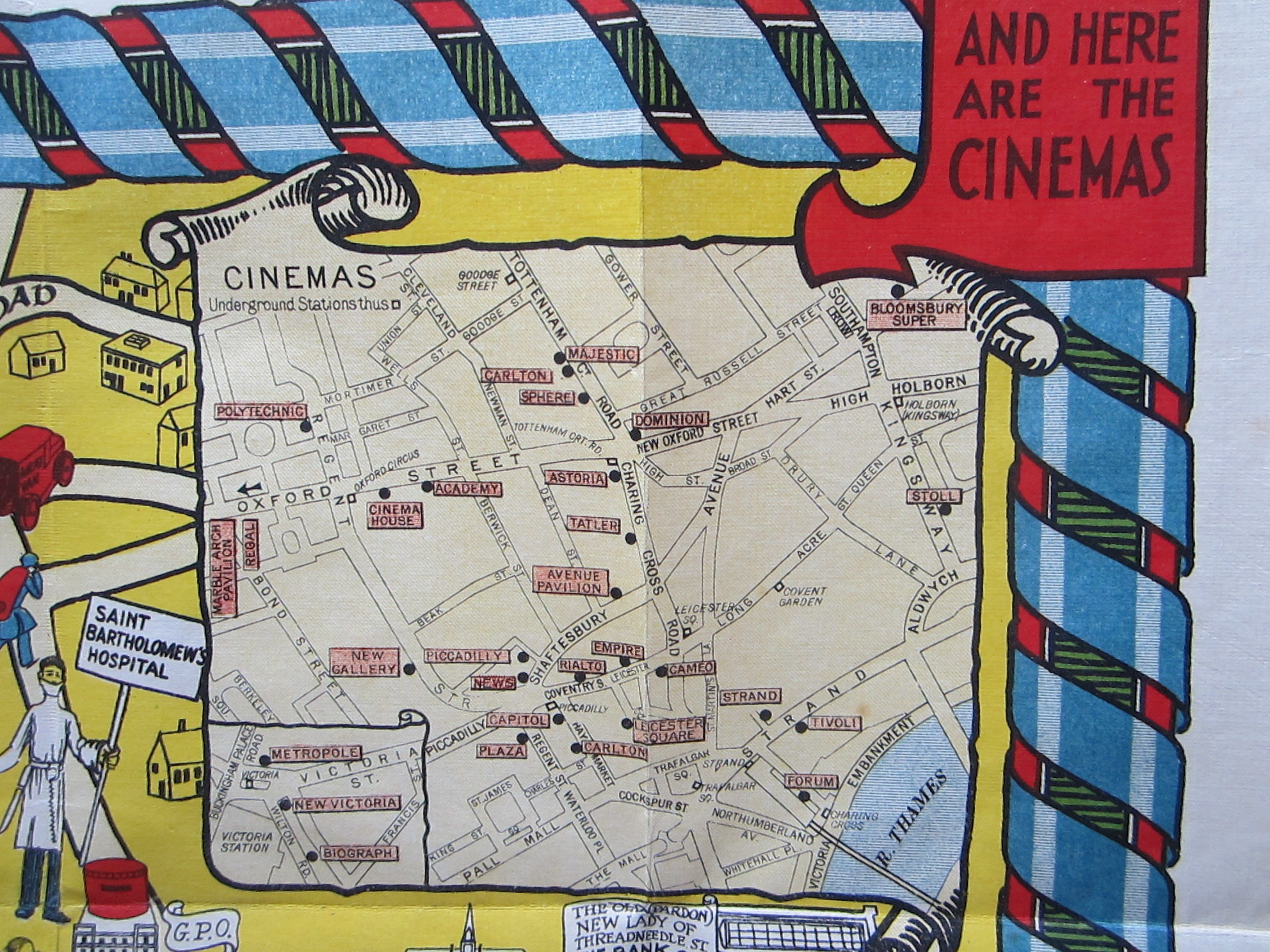 The New Pictorial Map of London (photo 2)