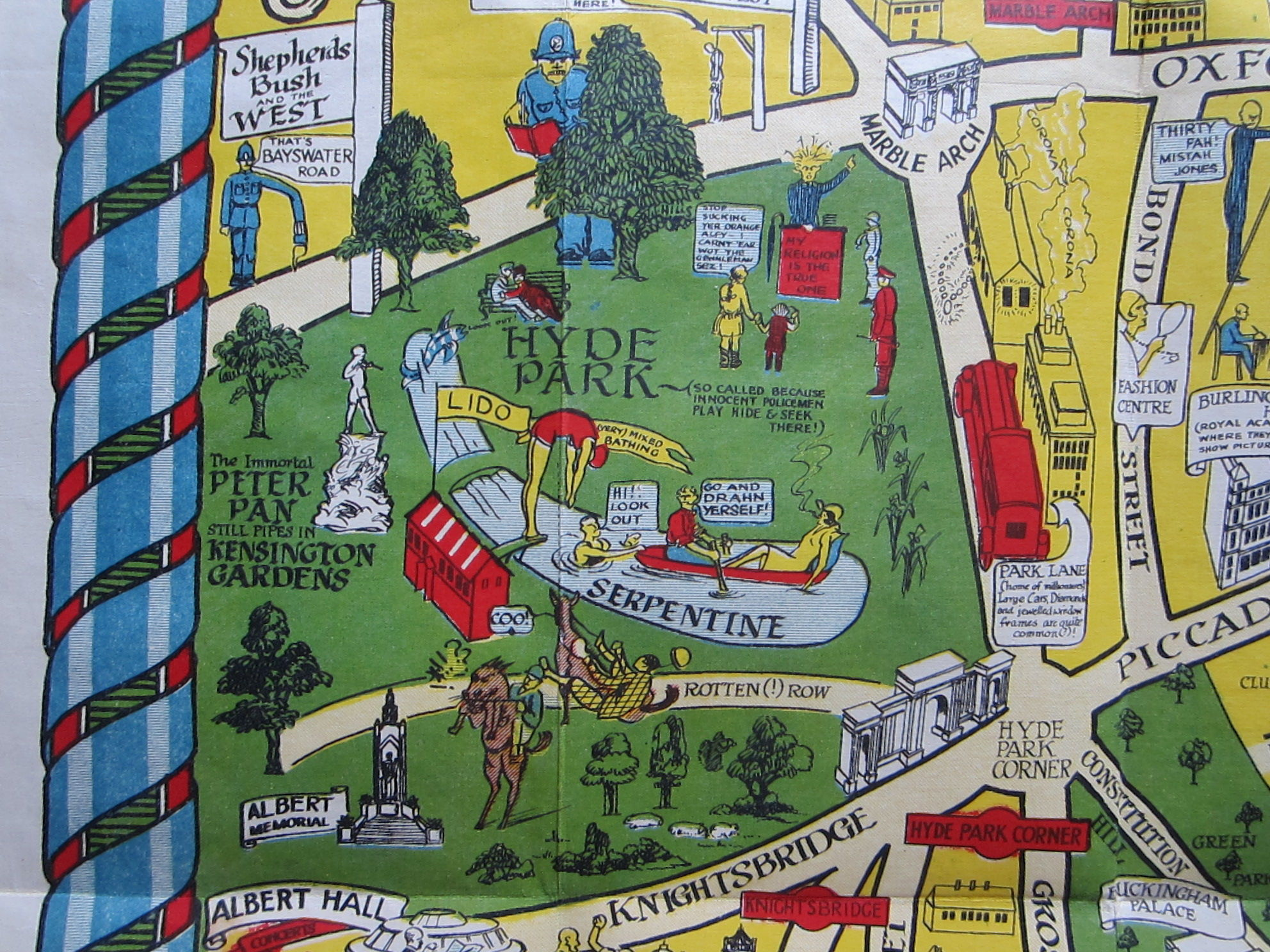 The New Pictorial Map of London (photo 3)