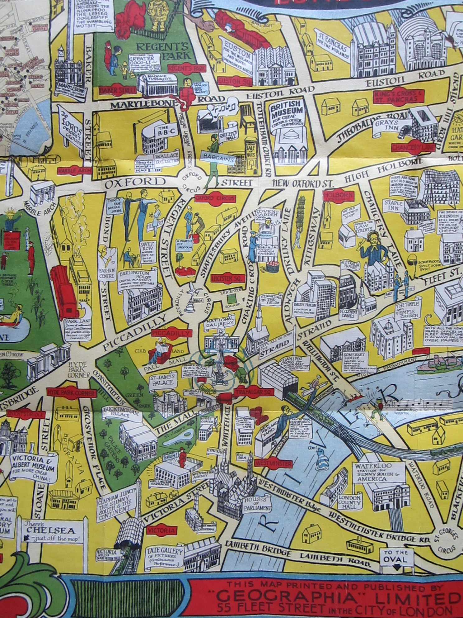 The New Pictorial Map of London (photo 4)