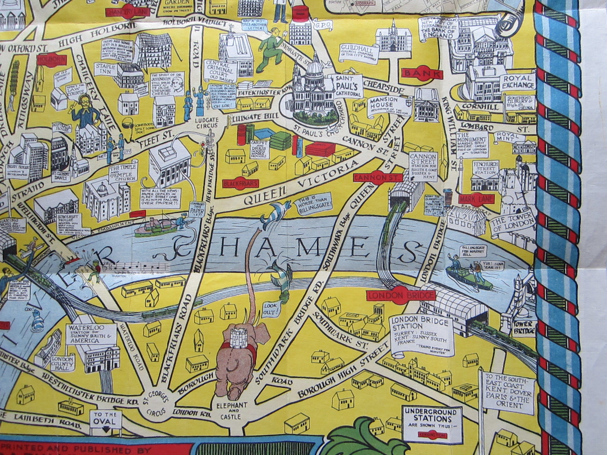 The New Pictorial Map of London (photo 5)