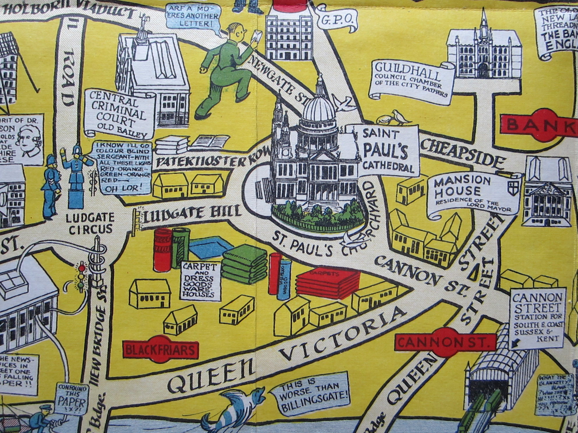 The New Pictorial Map of London (photo 6)