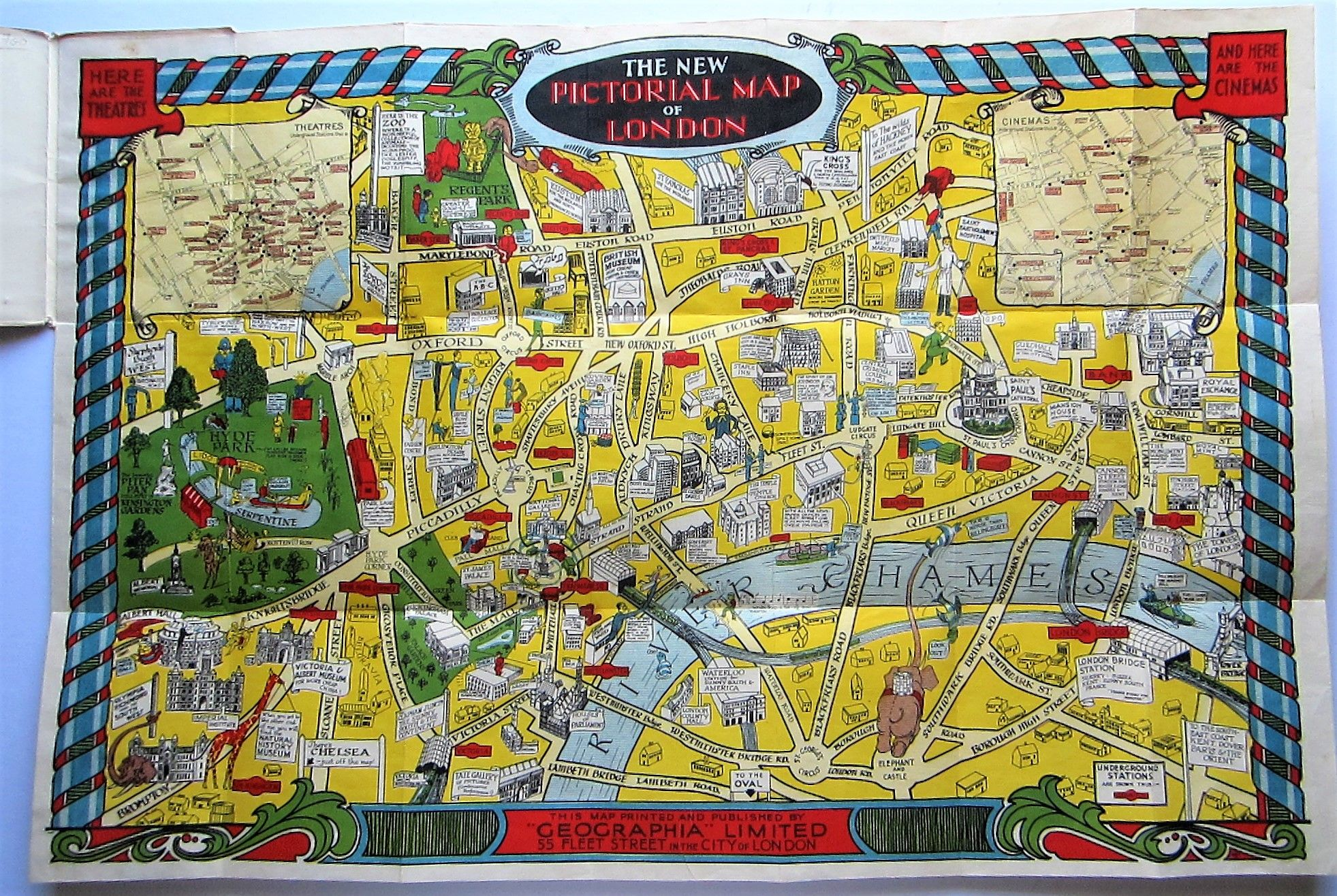The New Pictorial Map of London (photo 7)