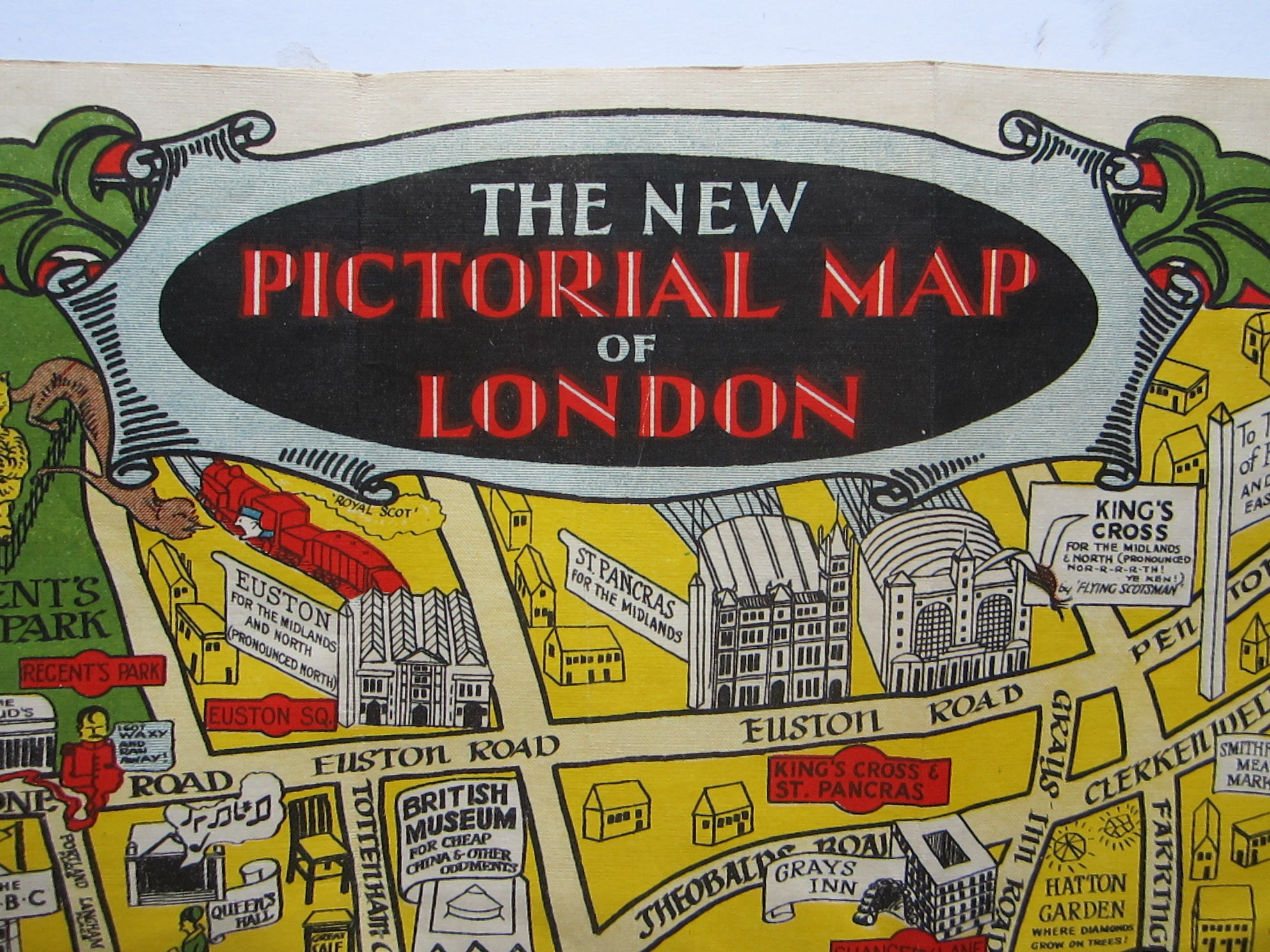 The New Pictorial Map of London (photo 8)