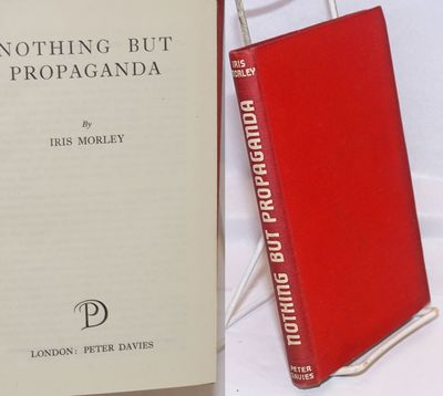 London: Peter Davies, 1946. Hardcover. 236p., cover slightly worn, minor stain on fore edge else goo...
