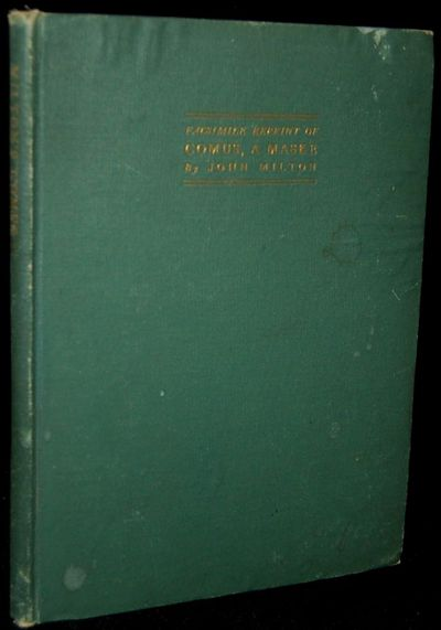 New York: Dodd, Mead & Company, 1903. Very Good binding. A decent copy of this facsimile edition, bo...