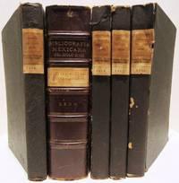 image of Bibliografia Mexicana del Siglo XVIII. Five volume consecutive set. Seccion Primera, Primera Parte, Segunda Parte, Tercera Parte, Cuarta Parte, Quinta Parte A. - Z.