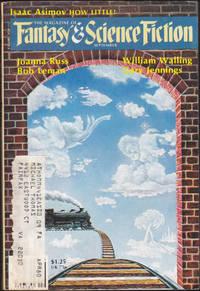The Magazine of Fantasy & Science Fiction, September 1979 (Vol 57, No 3) by Edward L. Ferman (ed.); Joanna Russ; Bob Leman; William Walling; Gary Jennings; Neal Barrett, Jr.; Donnel Stern; Tom Disch; Susan C. Petrey; Algis Budrys; Baird Searles; Isaac Asimov - September 1979
