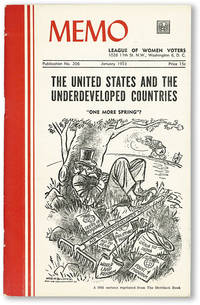 image of MEMO: League of Women Voters. Publication No. 206 (January 1953). The United States and the Underdeveloped Countries