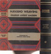 Navaho Weaving its Technic and History
