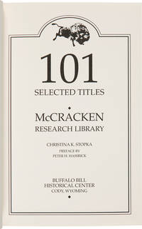 101 SELECTED TITLES. McCRACKEN RESEARCH LIBRARY