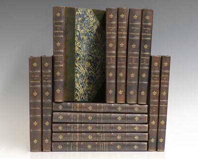 Philadelphia: W.H. Campion & Co, 1892. Finely bound national edition set of the novels of Victor Hug...
