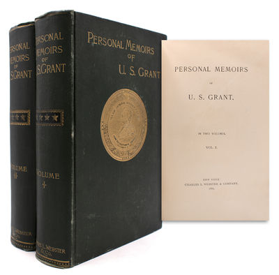 New York: Charles L. Webster, 1886. First edition. Illustrated with frontispiece portrait of Grant i...