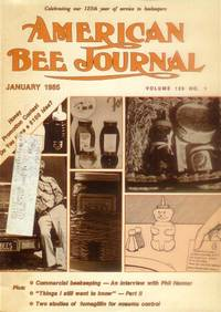 image of American Bee Journal: Volume 125, No. 1, January 1985