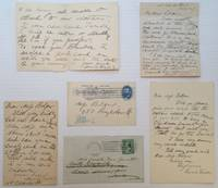 Archive of Five Autographed Letters Signed