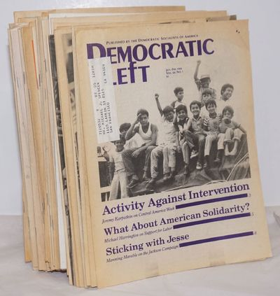 New York: Democratic Socialists of America, 1990. Thirty nine issues of the newsletter, a complete r...