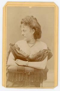 Carte-de-Visite of Pauline Cushman