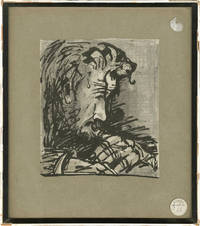 image of Original drawing of Peter O'Toole by David Hemmings, 1969