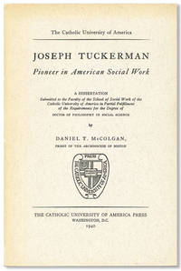 Joseph Tuckerman: Pioneer in American Social Work