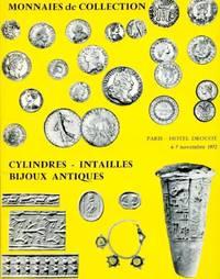 image of Monnaies de Collection : Catalogue de Vente  les Lundi 6 et Mardi 7 Novembre 1972 a L'Hotel Drouot, Paris