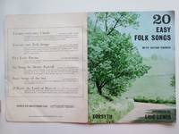 image of 20 Easy folk songs with guitar chords