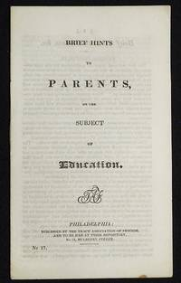 image of Brief Hints to Parents, on the Subject of Education