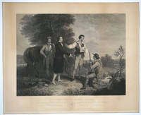 """""""The Capture of Major Andre.""""  Engraving"""