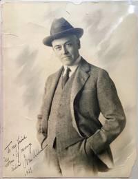1939 photograph portrait of Ivan Allen, of Atlanta Georgia, inscribed and signed