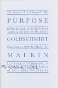 New York: Book Arts Press, 1990. stiff paper wrappers. 8vo. stiff paper wrappers. 30, (2) pages. Lim...