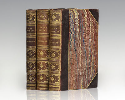 London: Smith, Elder & Co.; Longmans, Green and Co.; Chapman and Hall, 1872-1873. Finely bound colle...