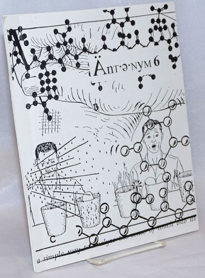 San Francisco: Bathysphere Press, 1995. 51p., 8.5x11 inches, poetry, prose, concrete poetry, images,...