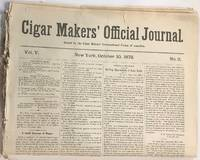 Cigar makers\' official journal [seven issues]