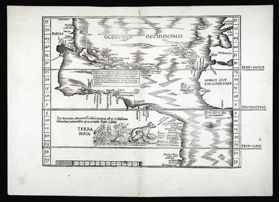 [Untitled map of the New World].