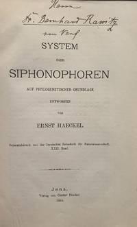 (1) System der Siphonophoren auf Phylogenetischer Grundlage entworfen; (2) Plankton-Composition; (3) Die cambrische Stammgruppe der Echinodermen